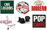 Nespresso Compatible Capsules Variety Pack 10 Blends - 50 pods