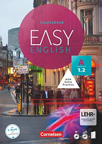 Easy English - A1: Band 2: Kursbuch - Mit Audio-CDs, Phrasebook, Aussprachetrainer und Video-DVD