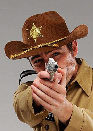 Erwachsener stellvertretender Sheriff-Brown-Cowboyhut