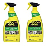Goo Gone All-Purpose Cleaner - 32 Ounce - Removes Dirt, Grease, Grime, Multi Surface, Multi Purpose, De-Greaser, Cleaning Spray - 2 Pack
