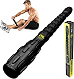 Muscle Roller Stick Pro, The Best Self Massage Tool, Relieve Sore Muscles, Cramps, Back Tightness, Trigger Points Pain, Myofascial Physical Therapy, Legs Recovery, Knots & Calf Soreness, (1 Roller)
