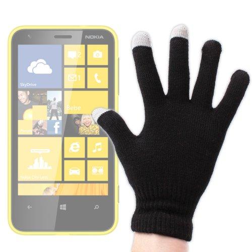 DURAGADGET Guantes Capacitivos Pequeños Especiales para Pantalla Táctil De Nokia Lumia 820