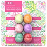 EOS 6 CT Variety Pack, Limited Edition Lip Balm Spheres, Variety Pack 6 Count - Pina Colada,...
