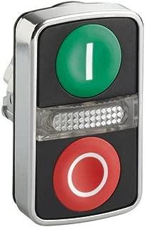 Multi-Head Push Button, Illum, 22mm, Chrome