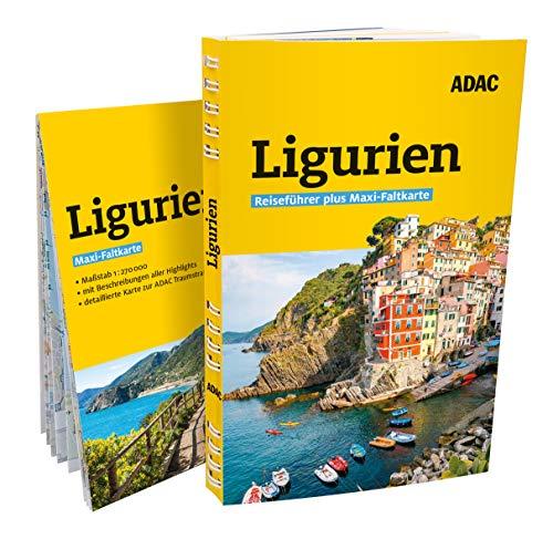 ADAC Reiseführer plus Ligurien: mit Maxi-Faltkarte zum Herausnehmen