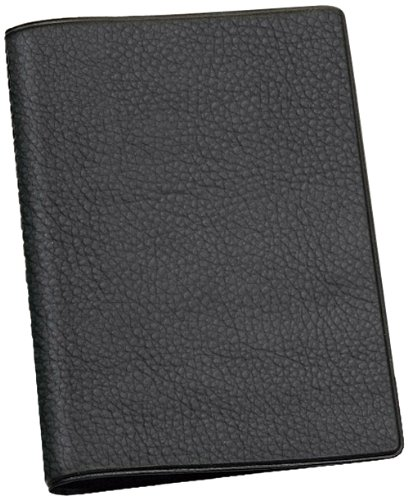 Veloflex 3258590 Ausweishülle A7, KFZ Schein, Ausweismappe, Ausweistasche, 8 Taschen, 95 x 130 mm, schwarz