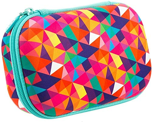 ZIPIT Colorz Pencil Case/Pencil Box/Storage Box/Cosmetic Makeup Bag, Colorful
