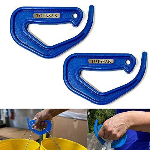 Totasak Grocery Bag Carrier 2Pack Royal Blue  Multiple Shopping Bag Holder Handle  Durable Lightweight Multi Purpose Secondary Handle Tool