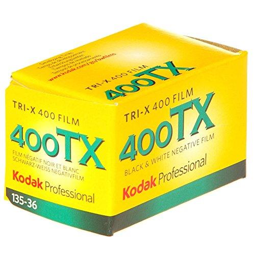 Kodak KOD103206 - Película Blanco y Negro (35 mm, tri-x pan 400-36), Multicolor