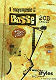Westwood Paul L'Encyclopedie De La Basse Bass Guitar Book/2Cd French-