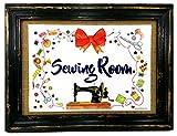AnneSvea Sewing Room Nähen Nähzimmer Druck Poster