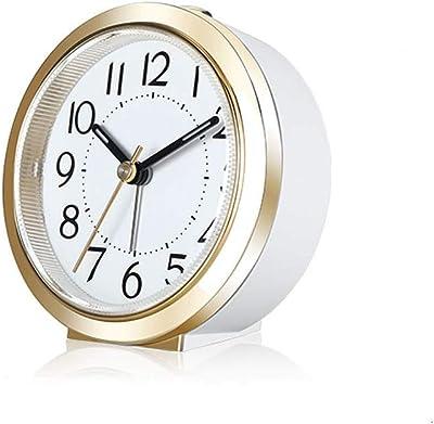 Feng Xu Reloj Despertador: indicador de luz Fluorescente Digital, luz Nocturna Nocturna, hogar