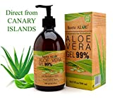 GEL Aloe Vera PURO 99% CERTIFICADO ORGANICO 100% Para CARA C