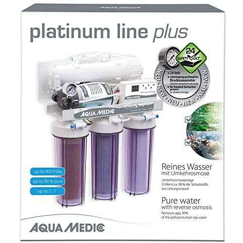 Aqua Medic Platinum line Plus (24V) mit Druckerhöhungspumpe