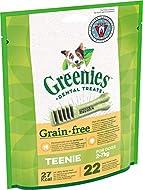 Greenies Daily Grain-Free Teenie Dog Treats (from 2-7 kg) – The Smart Dental Treat – 6 x 170 g - 132...