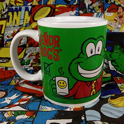 Leuke Smiley Cartoon Little Frog Prince Ceramic Cup