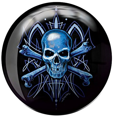 Brunswick Skull Viz A Ball Bowling Ball (10lbs)