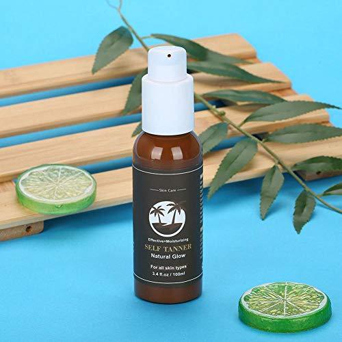 Crema bronceadora corporal auto bronceadora hidratante para la piel bronceada natural para las mujeres para los hombres