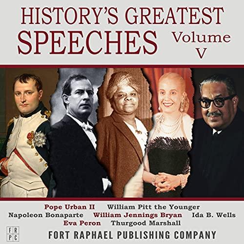 History's Greatest Speeches, Volume V cover art