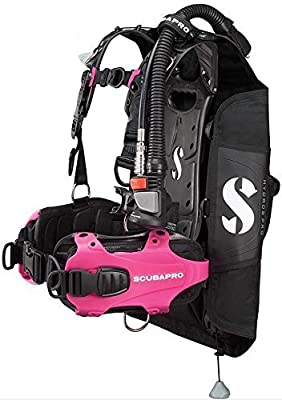 Scubapro Hydros Pro w/5th Gen. Air2 Womens BCD - Pink Medium