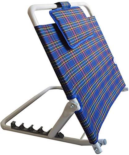 GLJY Klappbare Klappbett-Rückenlehne Tragbare verstellbare Edelstahl-Rückenbehinderung für ältere Menschen