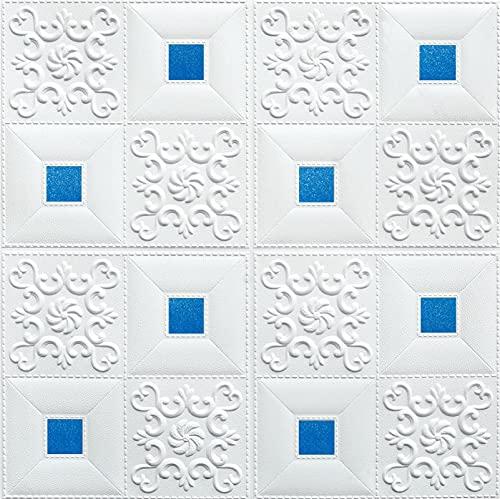 Papel pintado de ladrillo 3D impermeable autoadhesivo PE espuma salón decoración de techo DIY espuma Panel de pared azulejos proteger las paredes