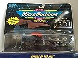 Return of the Star Wars Micro Machines Espacio Return of the Jedi / Star Wars Jedi micromachined (Jap?n importaci?n / El paquete y el manual est?n escritos en japon?s)