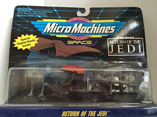 Unbekannt Star Wars - MicroMachines - Jabba's Desert Sail Barge & Imperial at-ST(Chicken Walker) & B-Wing Starfighter - Collection # 3