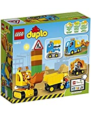 LEGO DUPLO Town Truck & Tracked Excavator safe 10812