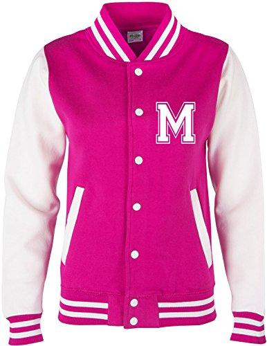 EZYshirt® Wunschinitalen Wunschnummer College Jacke für Damen | Herren | Kinder