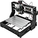 VEVOR CNC 3018-PRO 3 Axis CNC Router Kit GRBL Control With Offline Controller 1 Pcs 5mm ER11 PCB and 10PCS 3.175MM + 4...