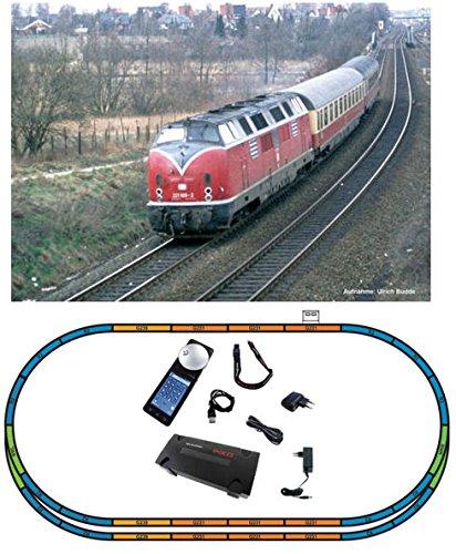 Piko 59116 SmartControl Premium TrainSet BR 221 und Avmz 111 und Apmz 121 Tee Merkur DB IV, Schienenfahrzeug