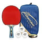 Racchetta professionale da ping pong 4 Star, per livello avanzato, racchette da ping pong ...