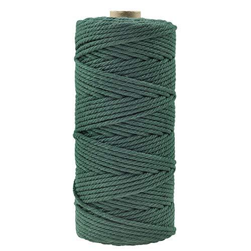 Cuerda de Algodón 5Mm Verde Marca Zaloife