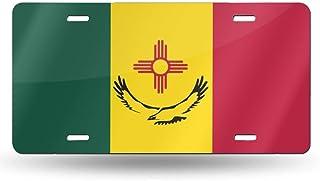 6 X 12 Pouces MYGED Licence PDrapeau de lAfrique du Sud Tardif Springbok Fashion Tag Sign Plaque dimmatriculation Avant de Voiture en Aluminium