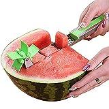 Sbuccia anguria in acciaio inox, set di paletta per melone e paletta per frutta 1 Pack