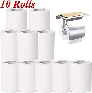 1//5//10 Rolls Toilet Paper,Professional Silky /& Smooth Soft Toilet Tissue for Home Kitchen,3 Ply White Toilet Tissue White-20 Roll