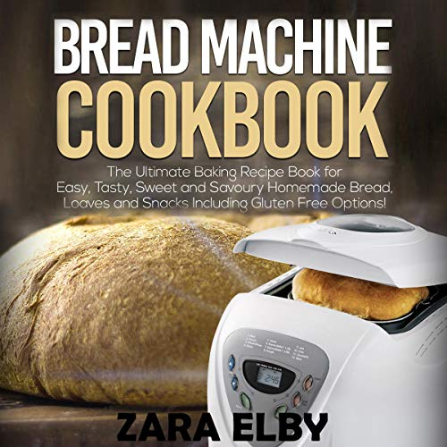 Bread Machine Cookbook audiobook cover art