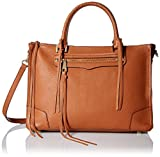 Rebecca Minkoff Regan Satchel Tote Shoulder Bag, Almond, One Size
