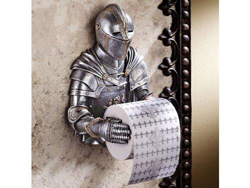 Geschenkbox Der originelle Ritter Toilettenpapierhalter - WC-Rollenhalter