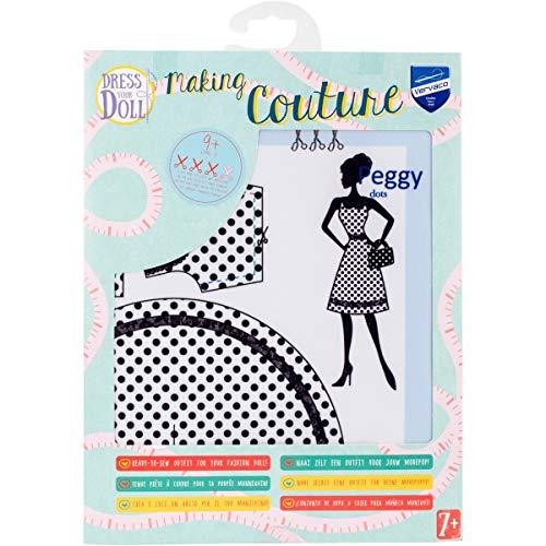 Vervaco PN-0164661 Kit de création de tenue de couture, Assortie, Convient à toute poupée de mode de 29 cm