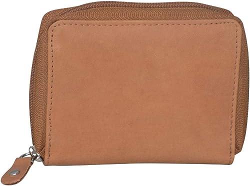 Leather Khaki Card Wallet Visiting Credit Card Holder Pan Card ID Card Holder Women