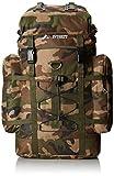 Everest Woodland Camo Hiking Pack, Camouflage, One Size