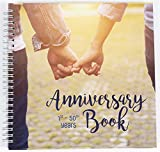 Wedding Anniversary Memory Book | A Hardcover Journal To Document Anniversaries From The 1st To the...