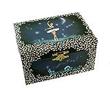 Caja de música para joyas / joyero musical de madera con bailarina bailadora (Ref: 22004) - Over the rainbow - El mago de Oz (Harold Arlen)
