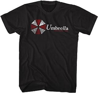 تي شيرت للبالغين مطبوع عليه فيلم رعب علمية الخيال العلمي لعبة الفيديو مظلة Corp من أمريكان كلاسيكس