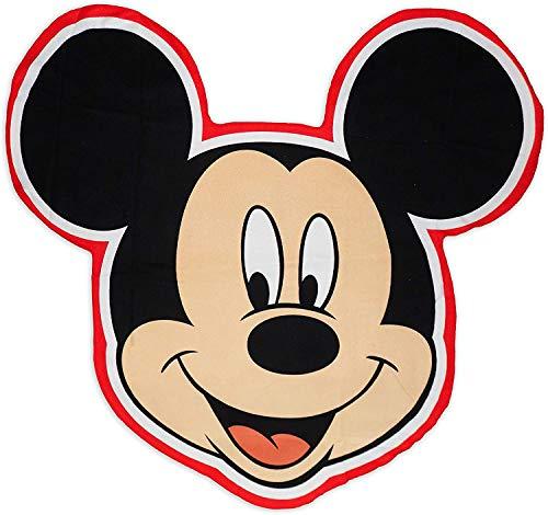Various Toalla de Playa Infantil con Licencia Oficial Disney (Mickey de Forma)