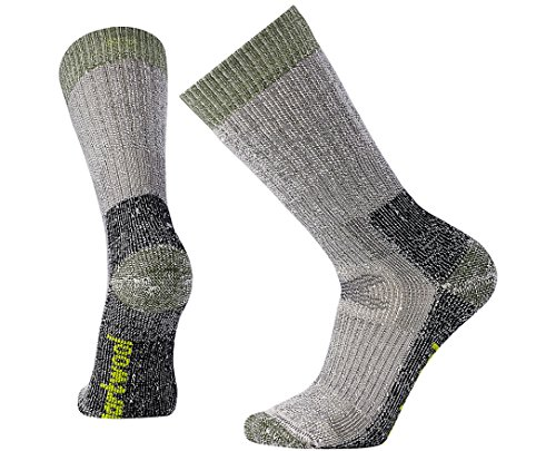 Smartwool Hunt Crew Socks -  Men's Extra Heavy Cushioned Wool Performance Sock Charcoal L Unisex