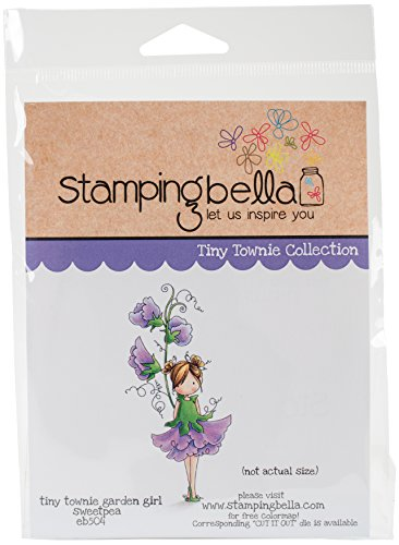 Stamping Bella Tiny Townie Cling Stamp, 17,78x 12,7x 0,76cm
