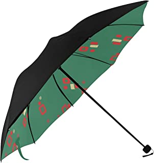 Travel Umbrella Black Colorful Halftone Underside Printing Travell Umbrella Repel Windproof Travel Umbrella Boys Travel Umbrella With 95% Uv Protection For Women Men Lady Girl